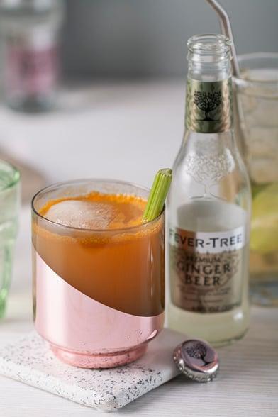 garden mule healthy cocktail