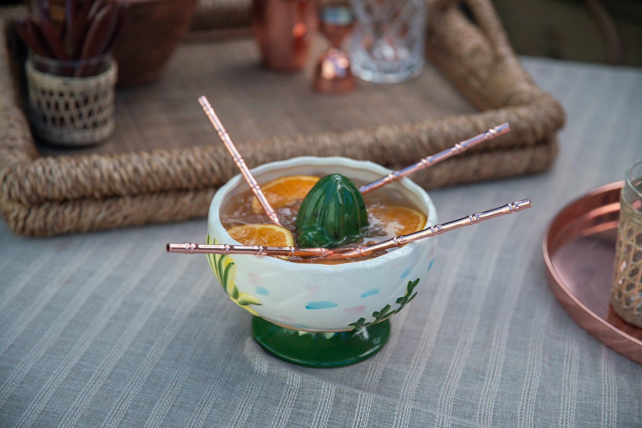 scorpion bowl tiki cocktail