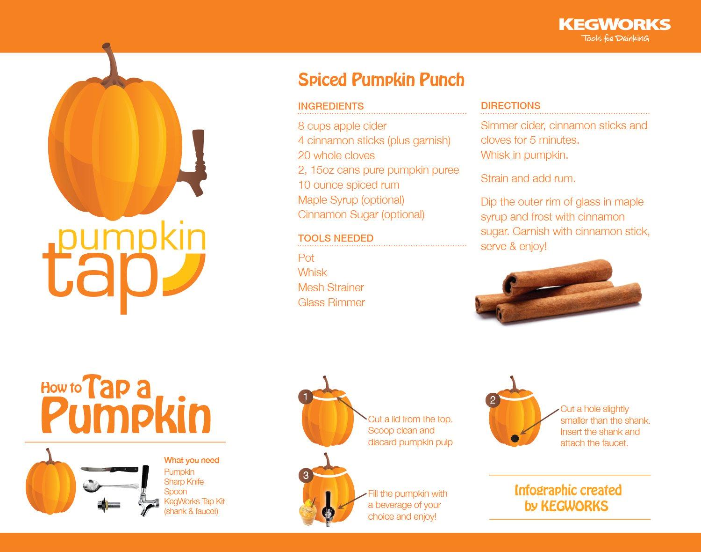 how to tap a pumpkin