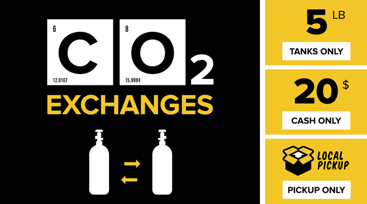 KegWorks CO2 Exchanges