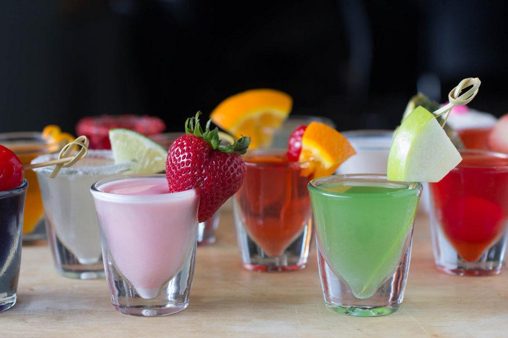 glass jello shot cups
