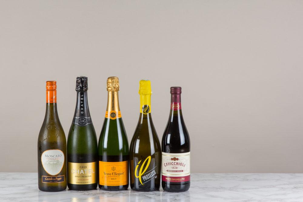 sparkling wine types