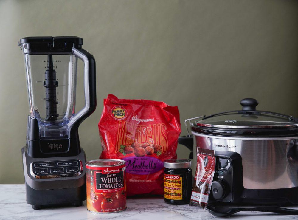 slow cooker meatball ingredients