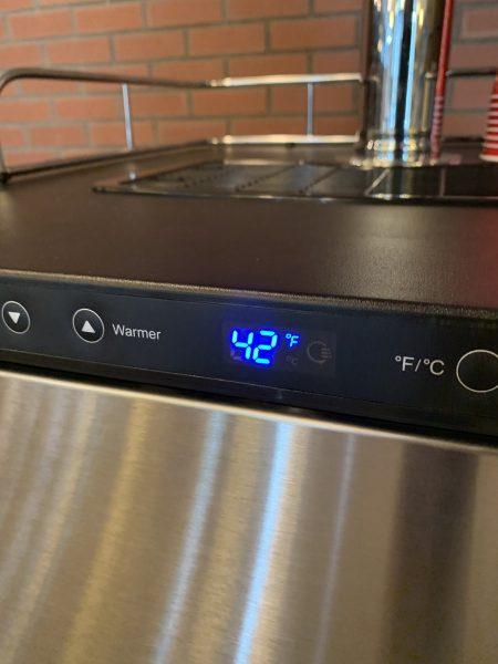 Step 8: Set temperature.