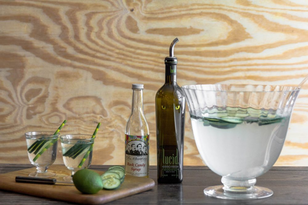Cucumber Absinthe Punch Recipe