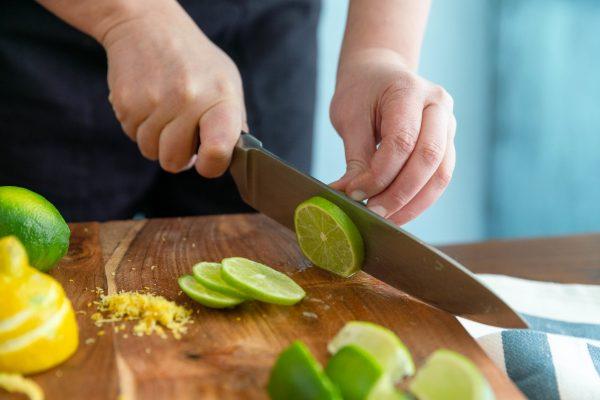 Lime Slice Cocktail Garnish