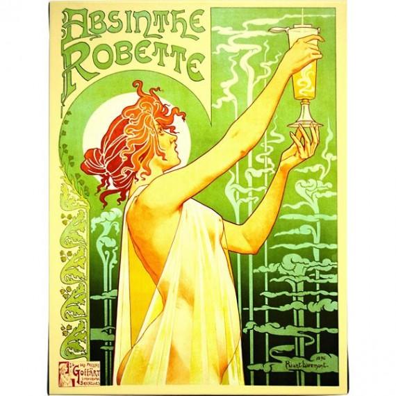 Absinthe Robette by Henri Privat-Livemont.