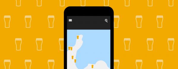Mobile beer app logo