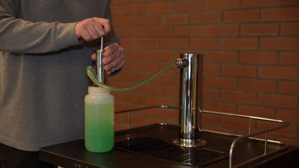 Step 8: Clean beer lines.