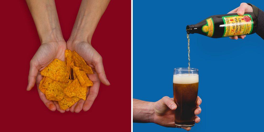 smoked beer snack pairing