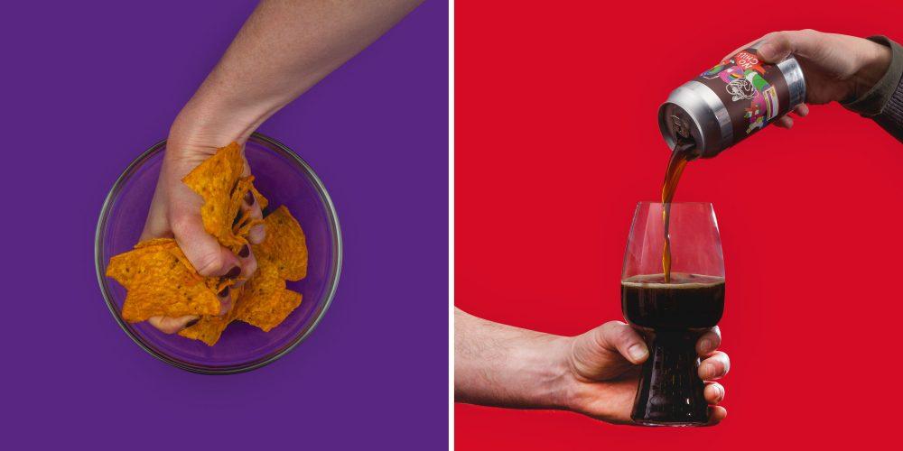 snack food beer pairing