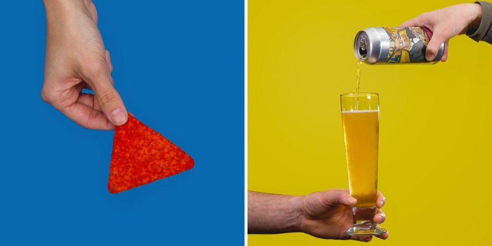 snack food beer pairings