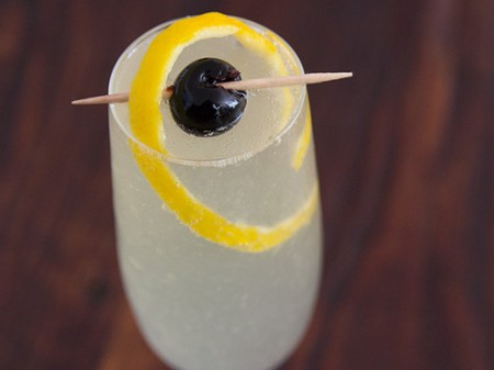 French 75 Cocktails from SeriousEats.com