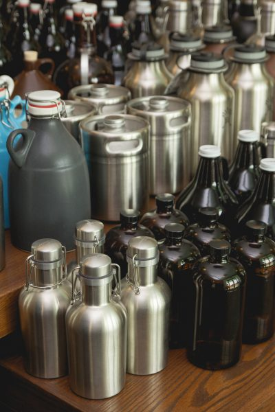 Image of Kegworks wide selection of growlers