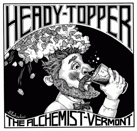 The Alchemist Heady Topper Label