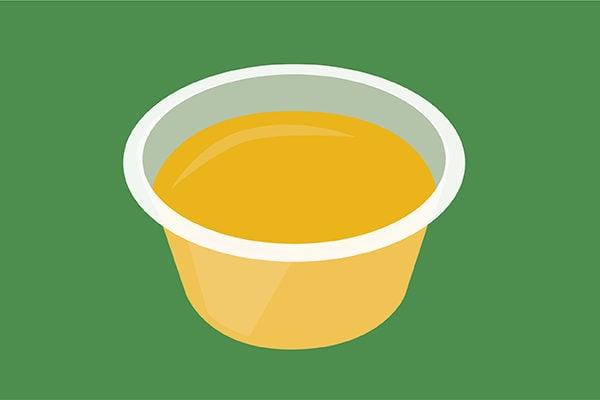 Lemon Drop Jello shot