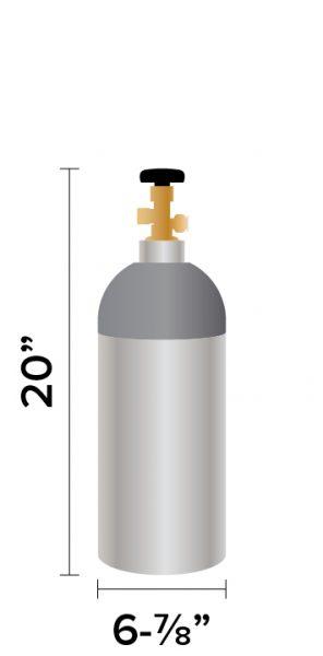 10 lb CO2 Tank