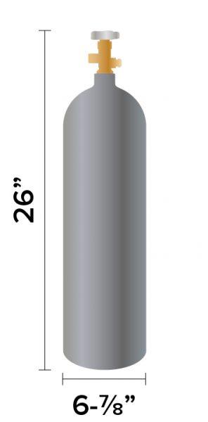 15 lb CO2 Tank