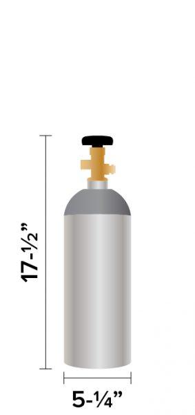 5 lb CO2 Tank