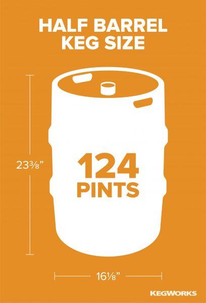 Half Barrel Keg Size
