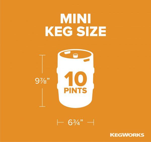 Mini Keg Size