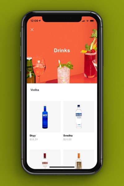 postmates alcohol delivery app