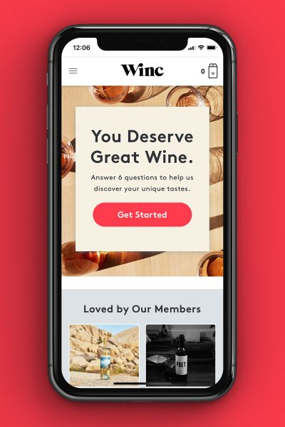 winc alcohol delivery app
