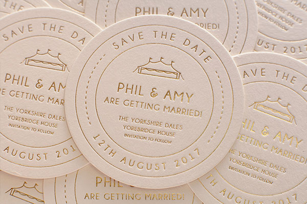 Beer Themed Save-The-Dates