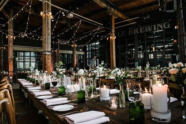 Brewery Wedding Reception
