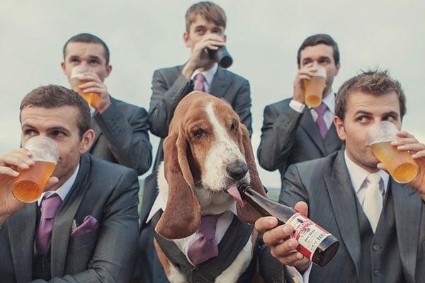 Beer Themed Wedding Photos