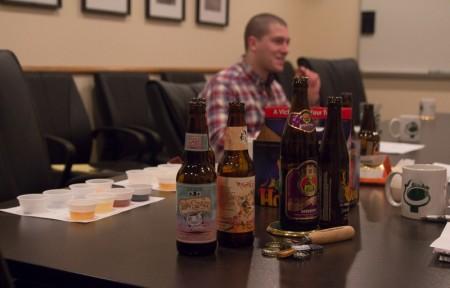 KegWorks Caleb Tasting Beer