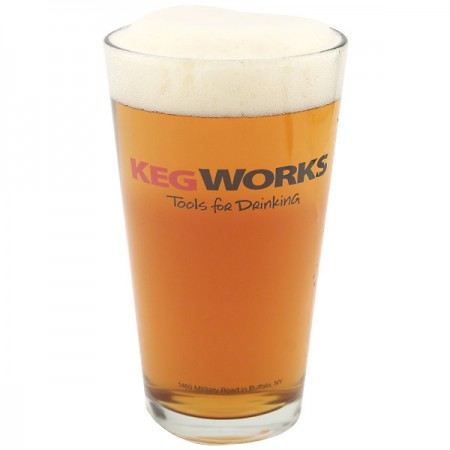 KegWorks Tools for Drinking Pint Glass
