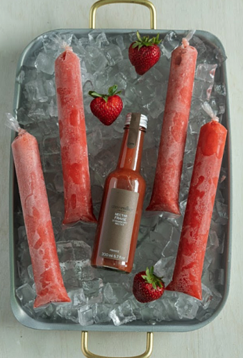 Popsicle Food Styling