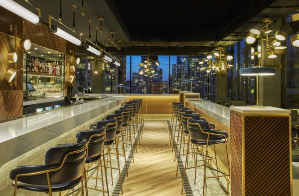 Restaurant Bar Design, Apogee Chicago