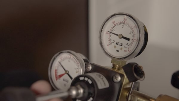 Step 11- Adjust the output to proper PSI level