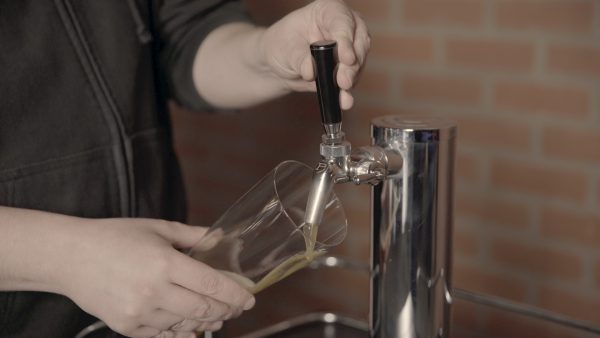 Step 14- Pour beer!