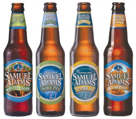 A Few of Sam Adams Large Selection