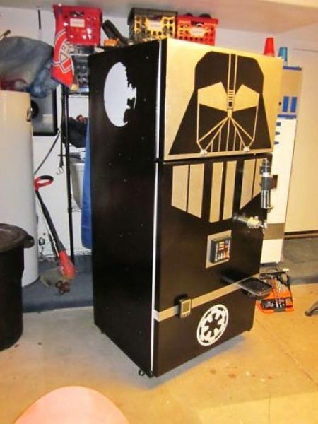 Star Wars Darth Vader Kegerator