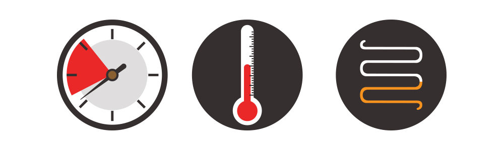 temperature, pressure, and restriction