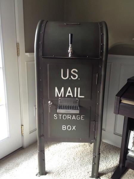 U.S. Mailbox kegerator
