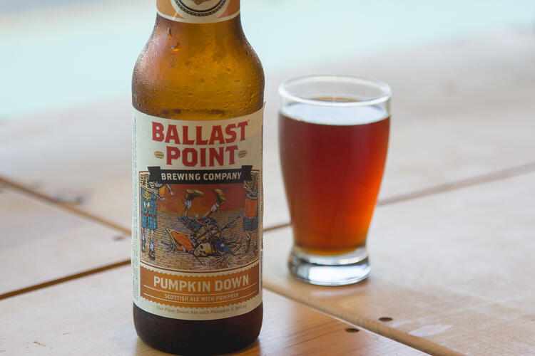 ballast point pumpkin down