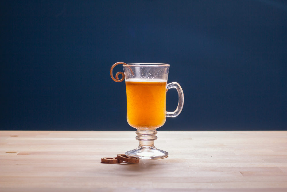 hot miso brown buttered rum
