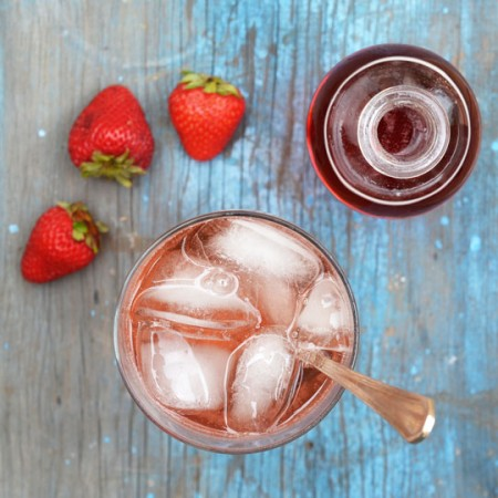 fresh fruit shrub syrup thekitchn.com