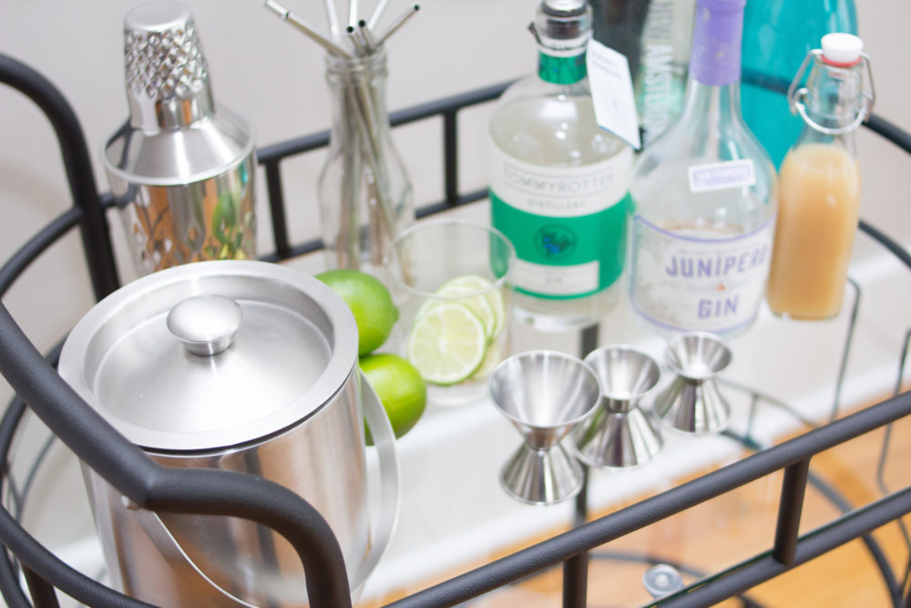 hero bar cart