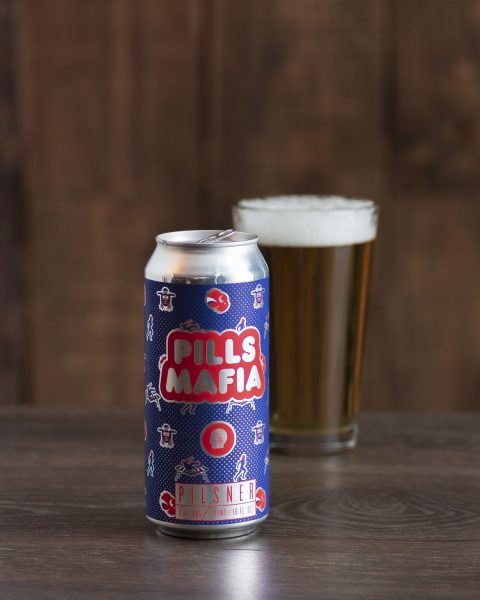 Buffalo Bills craft beer Thin Man Pills Mafia