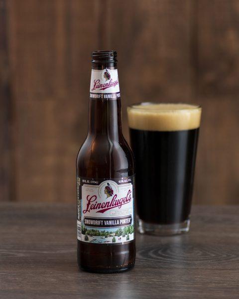 Green Bay Packers craft beer Leinenkugel Vanilla Porter