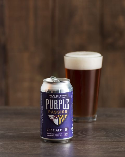 Baltimore Ravens beer DuClaw Purple Passion