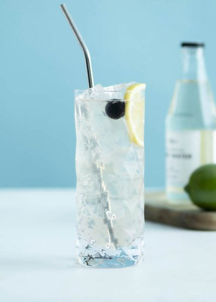 non alcoholic tom collins