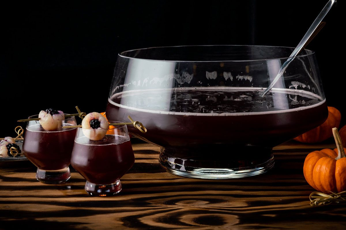 Spiked Halloween Punch