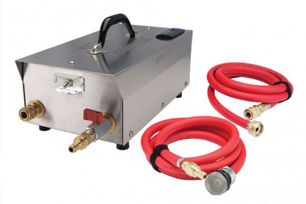 recirculating beer line cleaning pump